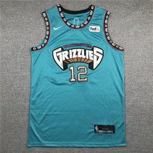 Memphis Grizzlies Ja Morant #12 Jersey